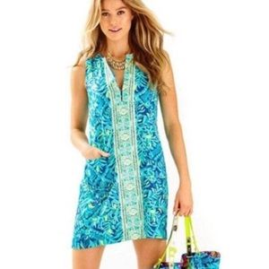 Lilly Pulitzer Kelby Stretch Shift Midnight Cove 4